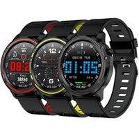 2019 New L8 Sport Smart Watch Waterproof IP68 ECG Blood Pressure Oxygen Wristwatch Heart Rate Wristband 1