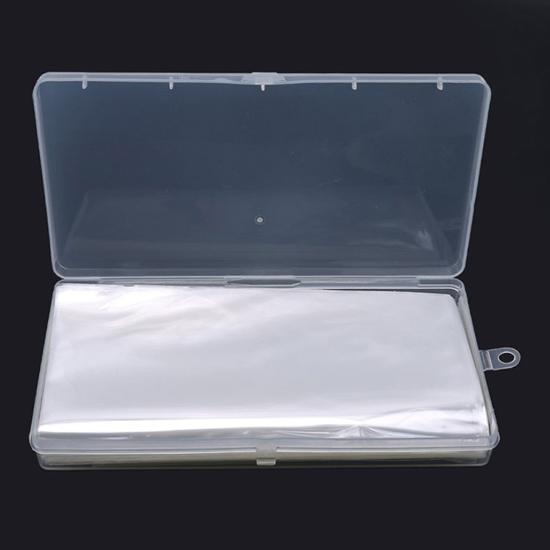 100 шт. креативные бумажные банкноты с коробкой, Прозрачная ПВХ-страничка для бумажных денег, монет, монет, держателей монет, Новинка