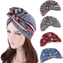 HOT NEW Women New Cotton Scarf Wrapped Head Turban Ladies Hair Accessories Hat Headwrap Long Tail Cap Chemo Hats