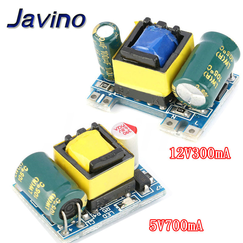 AC-DC 5V 700mA 12V 300mA 3.5W Isolated Switch Power Supply Module Buck Converter Step Down Module 220V turn 5V/12V image