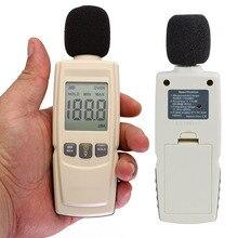 Переносной цифровой высококачественный измеритель шума уровня звука измерительный прибор децибел точный контрольный тестер 30-130 дБ