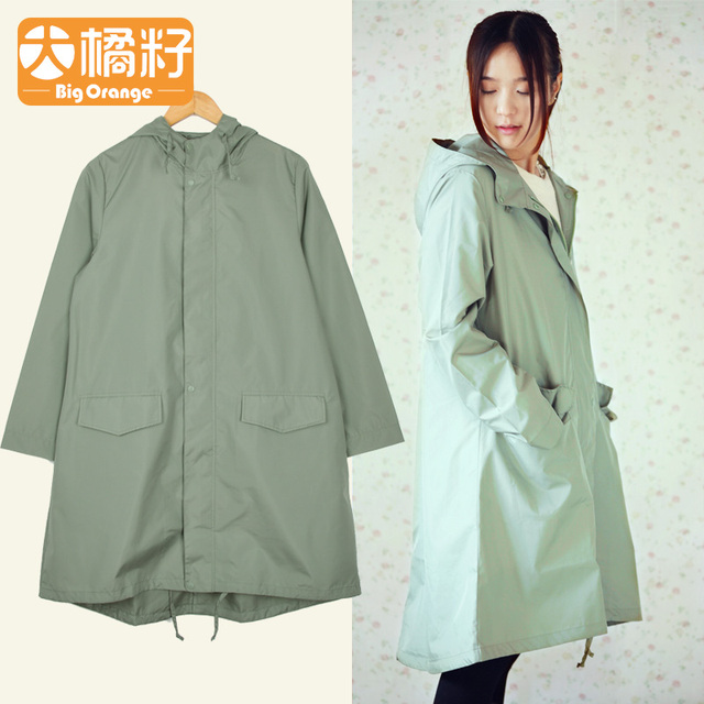 Green Long Raincoat Women Girl Rain Jacket Poncho Ultra Thin Women's Adult Rain Suit Waterproof Suit Gabardina Mujer Gift Ideas