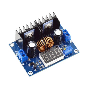 XL4016 LED Voltmeter PWM Adjustable 4-36V To 1.25-36V Step-Down Board Module Max 8A 200W DC-DC Buck Converter Power Supply Model genuine ultrafire 26 5mm led drop in module silver golden dc 4 2v