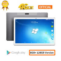 2020 8000 mah android 8.0 2.5d tela tablet pces 10.1 polegada 4g lte telefone tablet pc 10 núcleo ram 8 gb rom 128 gb comprimidos 1920*1200 pces