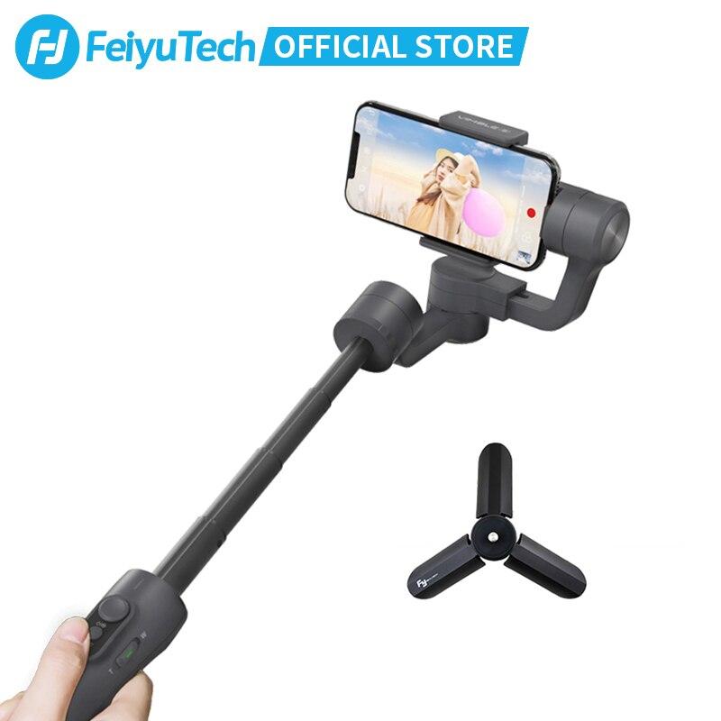 Estabilizador de mão feiyutech feiyu vimble 2, para smartphones iphone x 8 7, gimbal, com 183mm xiaomi xiaomi compatível com xiaomi,