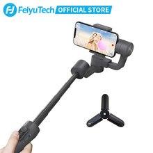 Feiyutech vimble oficial 2 smartphone cardan handheld estabilizador com 183mm pólo de extensão para iphone 11 xr x 8 7 samsung