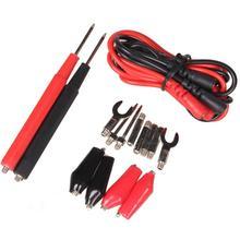 16pcs Multifunction Digital Probe Test Set Cable Alligator Clip Tool Needle Tip Probe Test  Lead Cable Alligator Clip Wire Tool