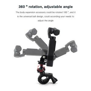 Image 2 - Kamera bisiklet montaj aksamı bisiklet motosiklet braketi tutucu FIMI palmiye eylem kamera standı çerçeve klip GoPro kamera için