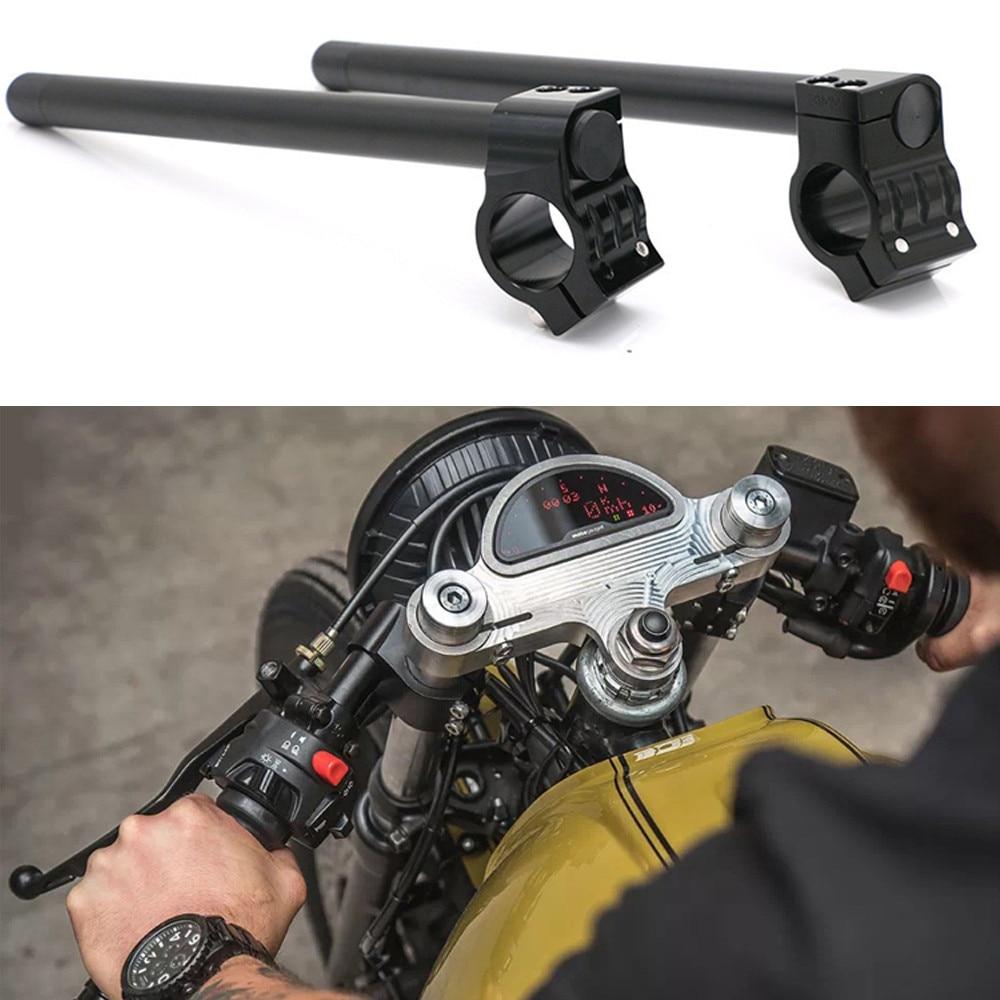 motocicleta clip on guiador 22mm se encaixa 31 32 33 35 36 37 39 41 43