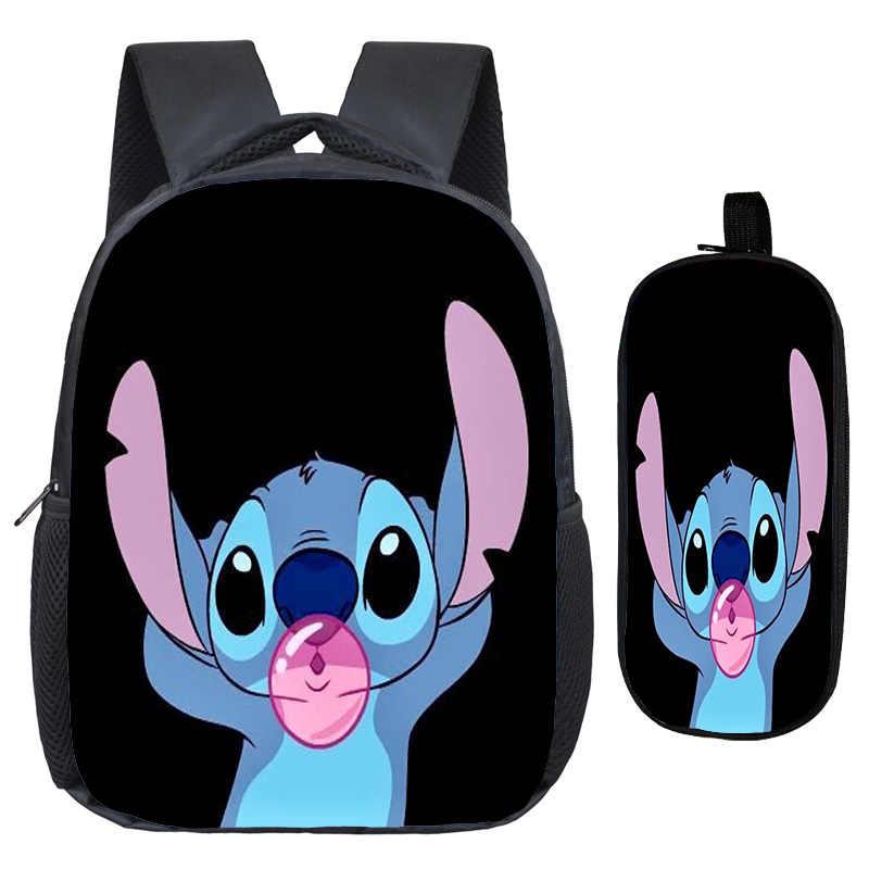 Piękny ścieg plecak kolorowy wzór plecak na laptopa piękne dzieci chłopcy dziewczyny dorywczo torba szkolna + moda pióro torba