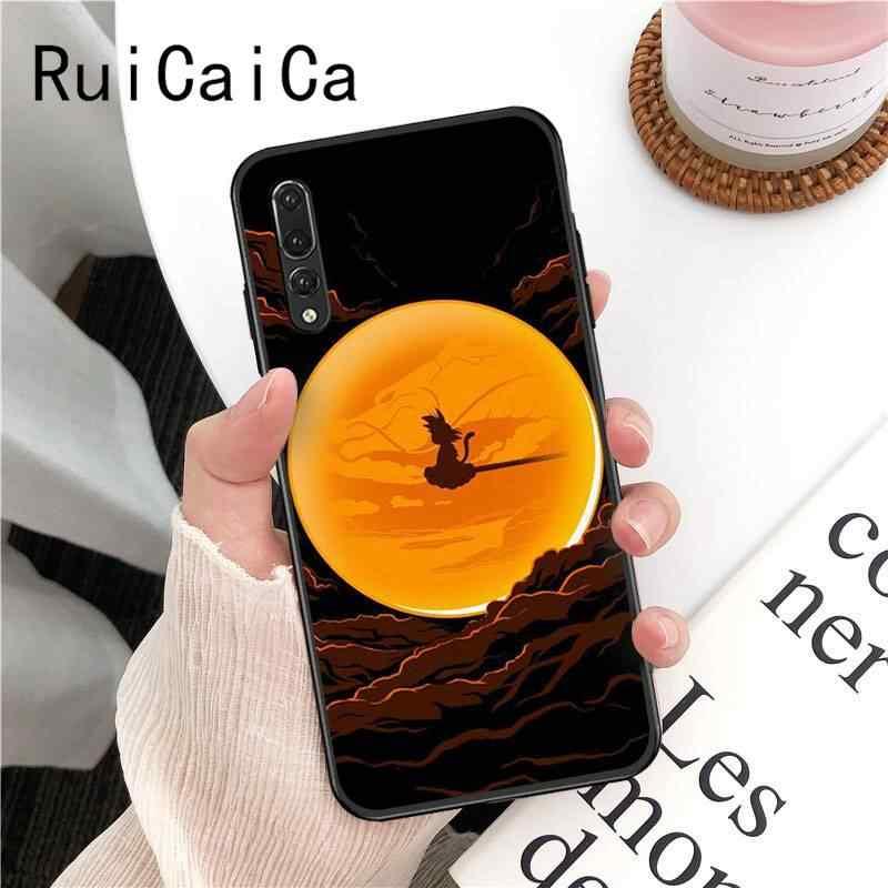 Ruicaicaドラゴンボールzスーパーdbz悟空phonecase huawei社P30 プロlite 1080pスマートP20LITE 2018 ノヴァ 2 2I 2 プラス 2 spスマートプラス