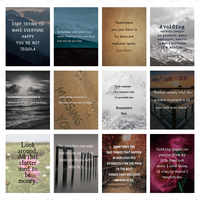 Inspirational Motivational Quotes About LifeWall Art Poster Prints Picture positive Decoration Canvas Painting Home Decor