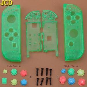 Image 5 - JCD avec boîtier doutils couvercle de coque pour interrupteur Nintend NS Joy Con boîtier de Protection de contrôleur avec bouton ABXY d pad pour NX Joy Con