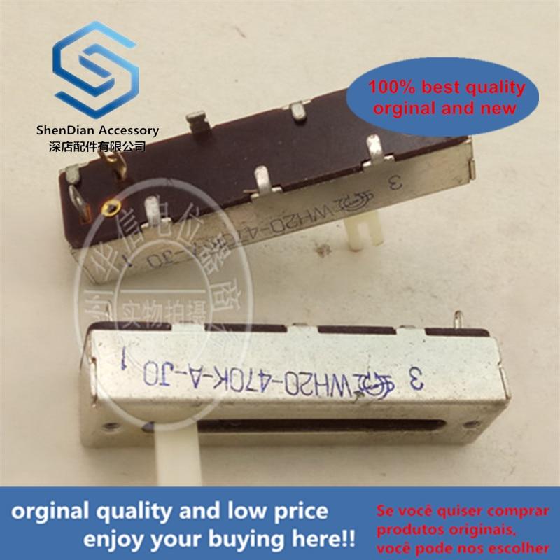 1pcs 100% New Wh20-470k-a 470ka 5cm WH20-470K-A 470KA Single Push Potentiometer