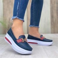2021 Women Sandals Platform Comfortable Women's Sneakers Fashion Casual Little White Shoes Women Increase Vulcanize Shoes 1