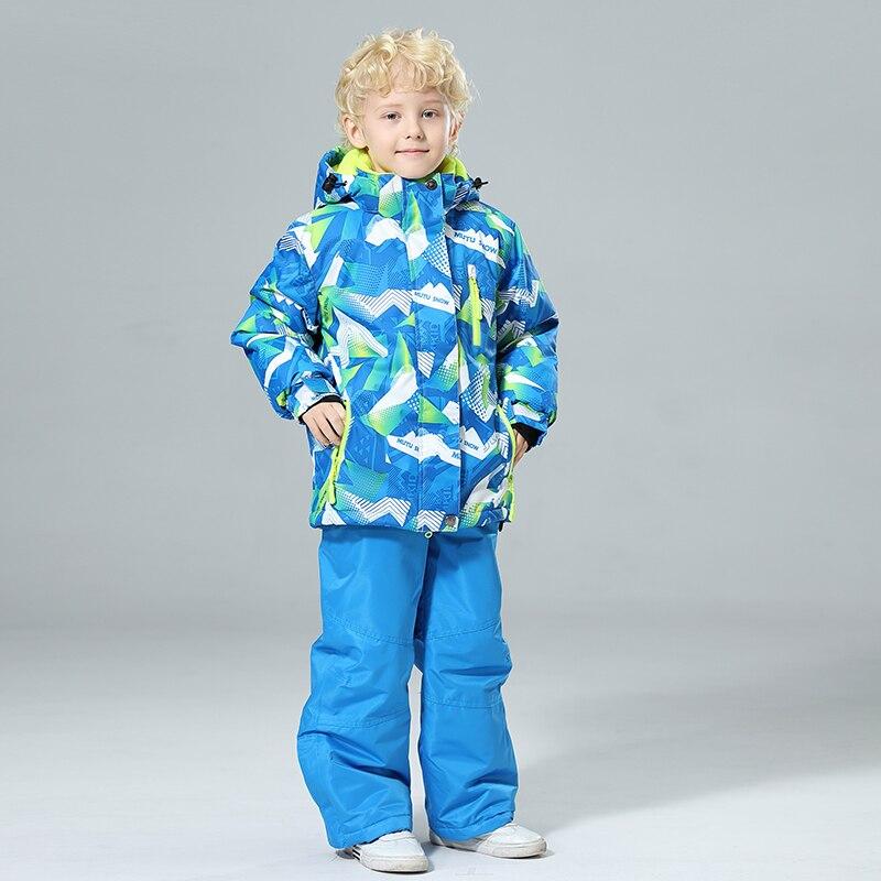 2019 nouveaux enfants Ski costumes imperméable chaud hiver Snowboard veste Ski et Snowboard vêtements veste de neige pour enfants marques
