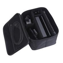Bolsa de transporte con asa y cremallera, Estuche de transporte de viaje para consola de videojuegos, bolsa de almacenamiento para NS, portátil EVA para Nintendo Switch