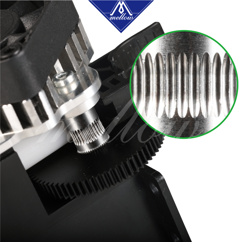 Image 3 - Free shipping 3D printer parts Titan Aero V6 hotend extruder full kit /Volcano nozzle kit for Desktop reprap mk8  i3 TEVO ANET-in 3D Printer Parts & Accessories from Computer & Office