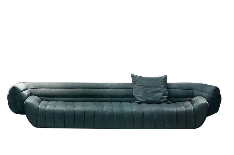Milan Design Sofa With Rolled Armrest