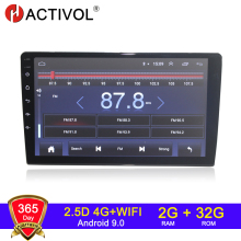 Car-Radio Dvd-Player Gps Navi Universal Android 9.1 HACTIVOL 2G 0 for 9-Interchangeable