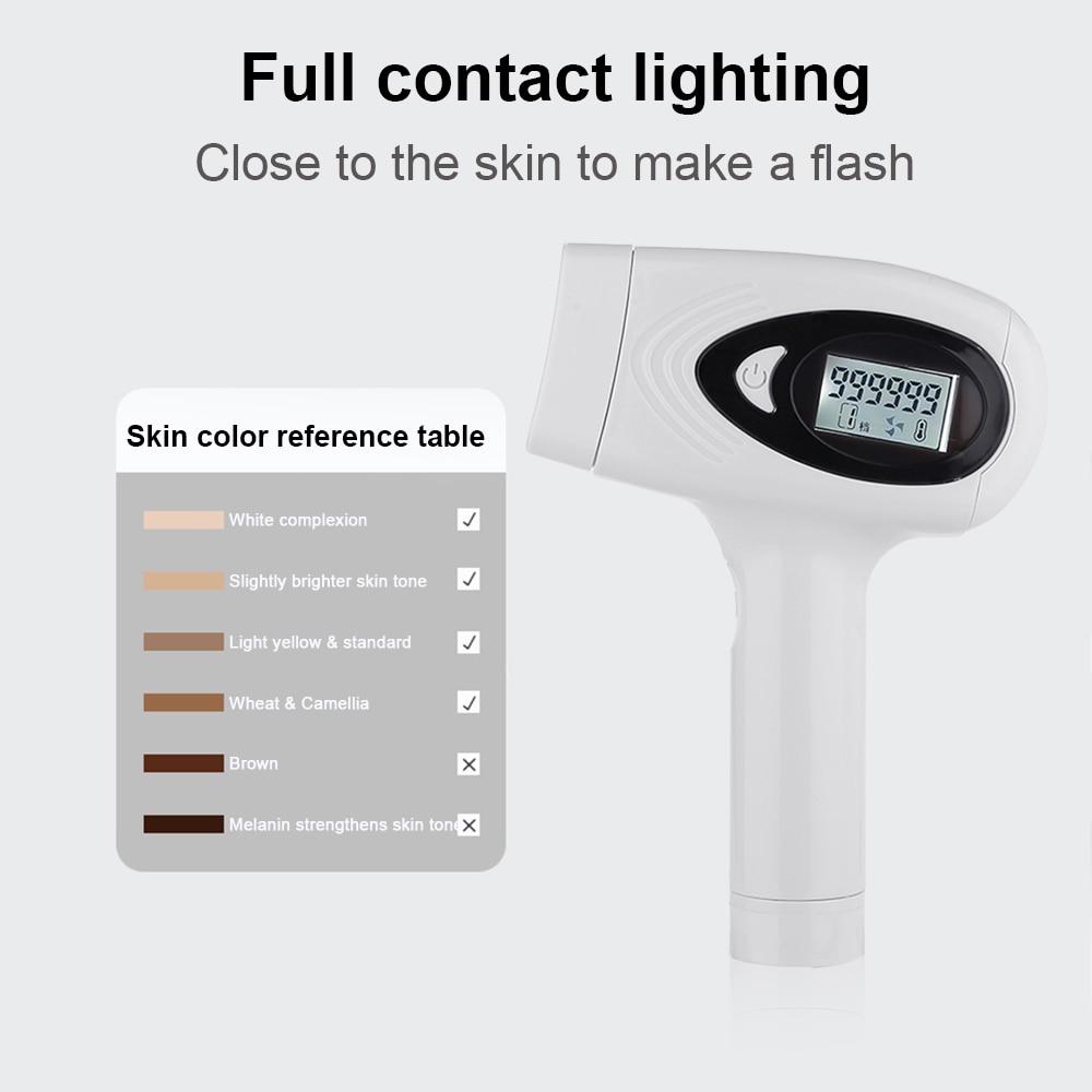 Hot Sale 2 in 1 IPL laser hair removal machine photodepilador laser LCD permanent depilador painless laser epilator bikini 3