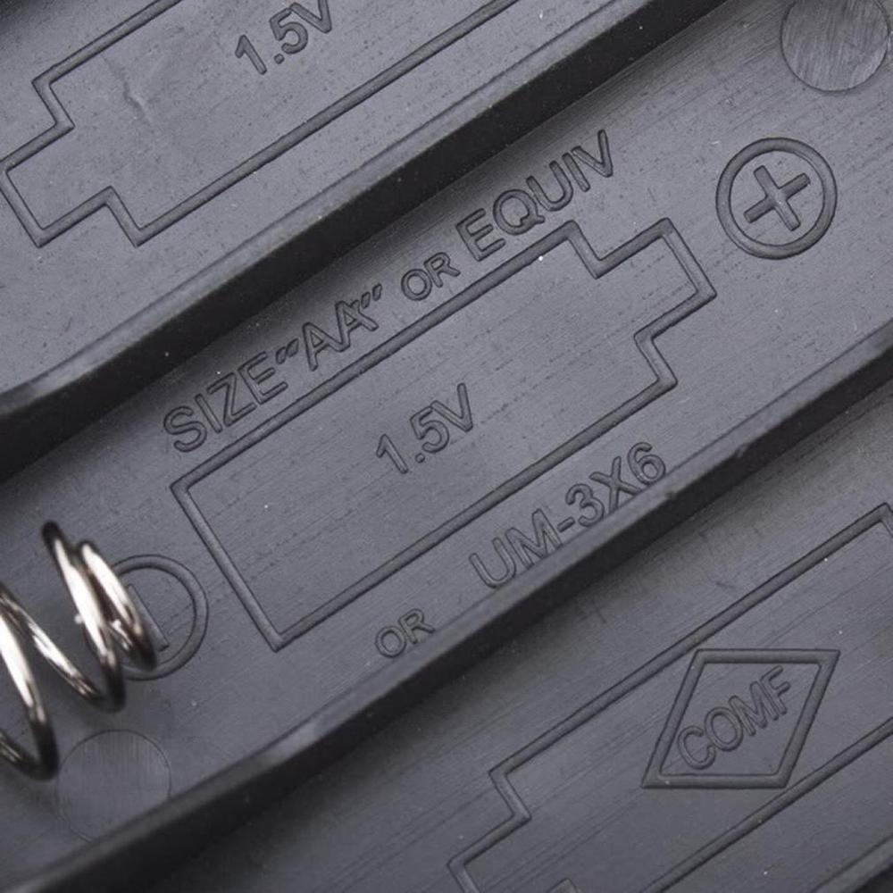 20pcs lot MasterFire 20pcs/lot 6 x AA Size Battery Storage Case Box Holder Leads With 4 Slots AA Size Power Batteries Storage Case Box (5)