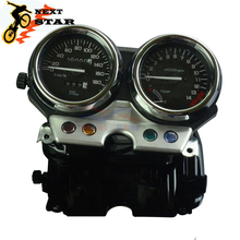лучшая цена Motorcycle Street Bike Speedometer Gauge Meter Tachometer Gauges For HONDA CB400 CB 400 1992-1994 1992 1993 1994 92 93 94