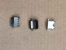 10 peças do conector da relação do porto do soquete 1080p hdmi 2.1 para xbox um x placa mãe usado reparo