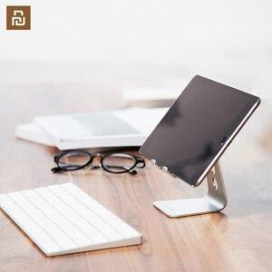 Image 1 - Suporte do telefone móvel tablet desktop suporte do telefone estável sem agitação de alumínio 7/12 polegadas para o escritório casa