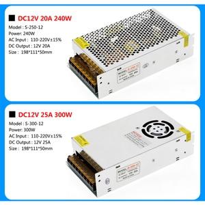 Image 5 - แสงTransformers AC110V 220V To DC12Vแหล่งจ่ายไฟอะแดปเตอร์1A 3A 5A 8A 10A 15A 20A 25A 30A 40A 50A LED Stripสวิทช์.