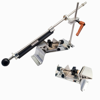 Kme Knife sharpener system Convenient reversal clip Constant angle Grinding tools Grinder machine with 4pcs stones