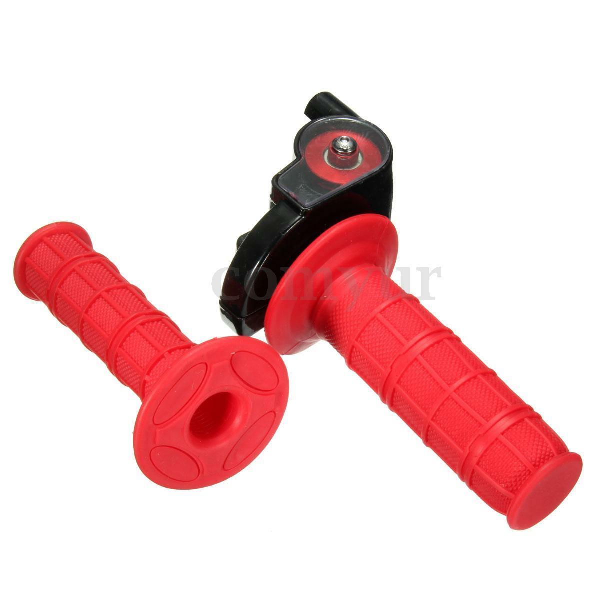 Pit Dirt Bike Quick Action Throttle Grip Twist W/Cable 125cc/140cc PITBIKE