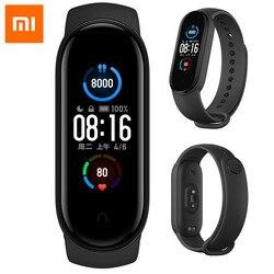 Xiaomi Mi Band 5/Mi 3 NFC wristband Global Smart Watch Bracelet AMOLED Screen Fitness Tracker Bluetooth Waterproof