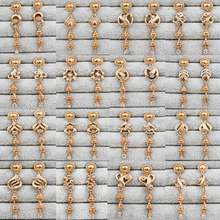 Новые модные ювелирные серьги для женщин девочек длинные гвоздики