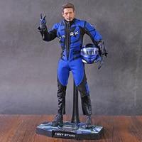 HC Avengers Iron Man Figures racing suit Tony Stark model ironman PVC Action Figures Toy Doll
