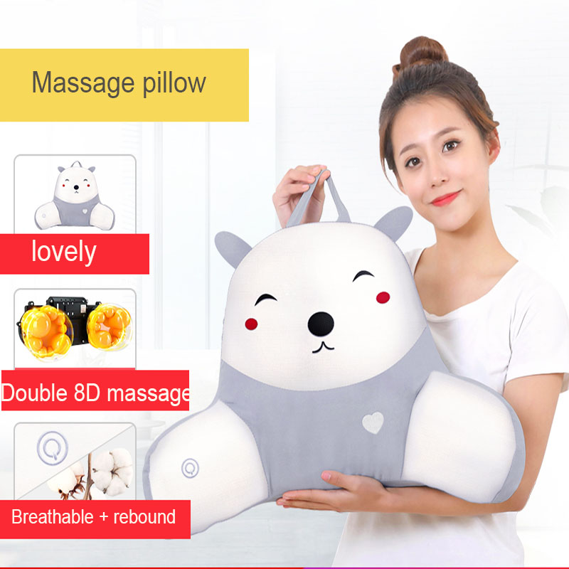 Waist Cushion Massager Smart Massage Waist Back Shoulder Backache Lumbar Cervical Vertebra Office Multifunction Electric