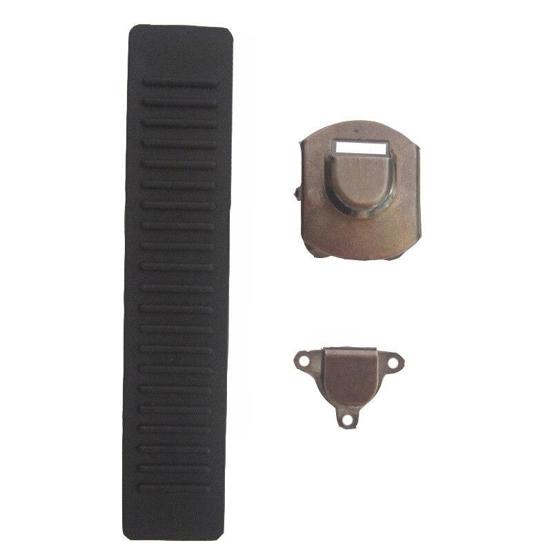Copper Sew Suit Pants Adjuster With Plastic Strip Manual Open Girdle Adjuster Uniform For Gun Black Trouser Buttons