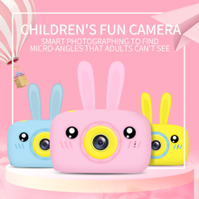 JAMSWALL Kids Camera for Girls,12MP 1080P FHD Digital Video Camera with 28 Funny Filters,Soft Silicone Cute Shell, Lanyard, 2.4