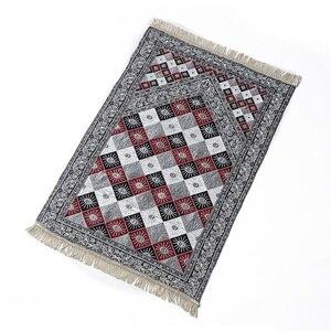 Image 3 - 70*110cm Travelling Islamitische Moslim Gebed Mat/deken/tapijt voor Aanbidding Salat Musallah Gebed Tapijt Deken bidden Mat Tapete APM11