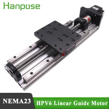 Free Shipping HPV6 Linear module ballscrew sfu1204 with Linear Guides HGH15 HIWIN same size with NEMA23 2.8A 56mm stepper motor