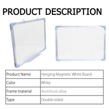 Hanging Double Side Magnetic Whiteboard Drawining White Board Office School Message Writing Bulletin Board With Black Marker Pen