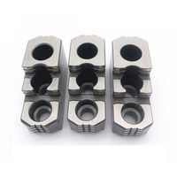 Hydraulic Three jaw Chuck CNC Powerful Hydraulic Hard Claws 5 6 8 10 12 15 Inch Hydraulic Hard Claw