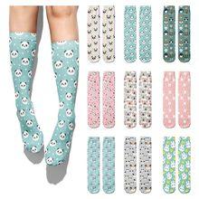 Nova moda meias de comprimento do tubo de comprimento médio meias de algodão meias de algodão casual