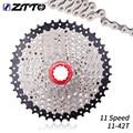 Велосипедная кассета ZTTO 11 скоростей 11-42T Freewheel MTB Moutain Bike 11 S, звездочка маховика, совместима с велосипедными деталями