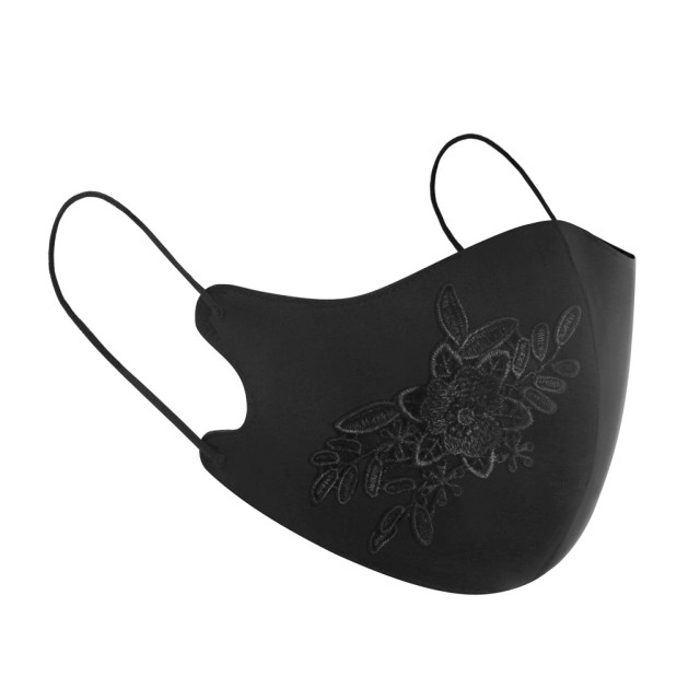 Rose flower Protective Mask Women Dust Sand Exhaust Sunscreen Face Mask Breathable Cycling Maskes Anti-flu masque de protection 2