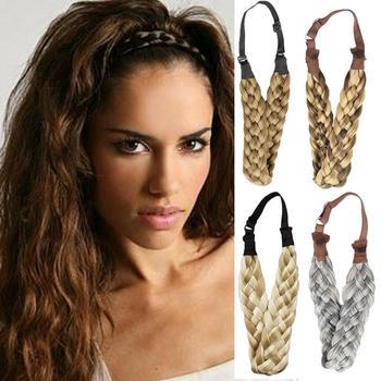 3.5cm Twist Elastic Wide Synthetic Headband