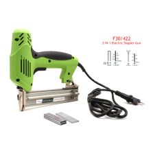 Electric-Nails Staple-Gun Tacker Framing Woodworking for 2-In-1 F30/422J