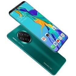 6,1 дюймов Mate33 Pro HD экран 1 Гб ОЗУ 8 Гб ПЗУ 10 ядерный Android 9,1 смартфон с европейской вилкой