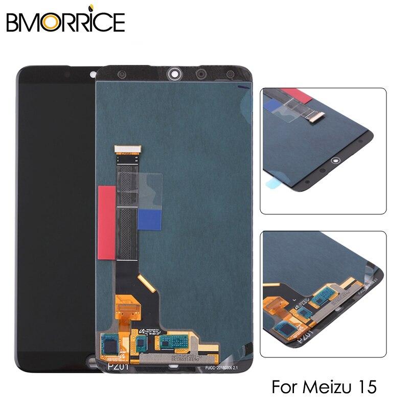 Écran LCD pour Meizu 15 MX 15 MX15 M881Q LCD écran tactile numériseur assemblée remplacement blanc noir pas de cadre 5.46