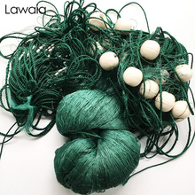 Lawaia Fishing Nets 2 Fingers 9 Shares 2m High 20m Long Pull Net Large Float Ball Increase Through The Heart Of